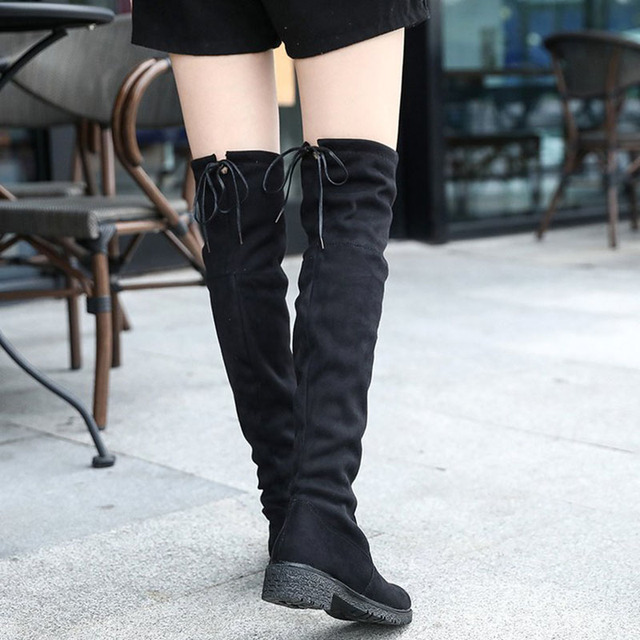Aliexpress    Buy Masorini Slim Stiefel Sexy High Over The Knee High Sexy ... c0fde9