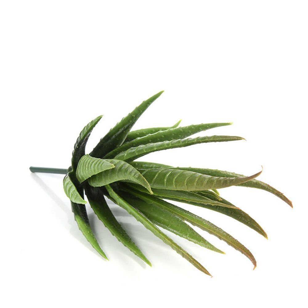 Verschiedene Realistische Grün Faux Künstliche Sukkulenten Pflanzen Aloe Laub Gefälschte Kunststoff Kaktus Sukkulenten Home Garten Wand Dekor