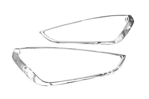 Автомобилей стайлинг хром головного света Крышка накладка для Форд s-Макс