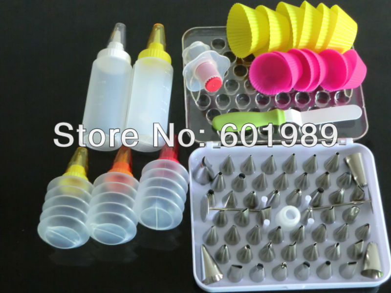 New Cake Decorating Tools Set And 52pcs Icing Nozzles
