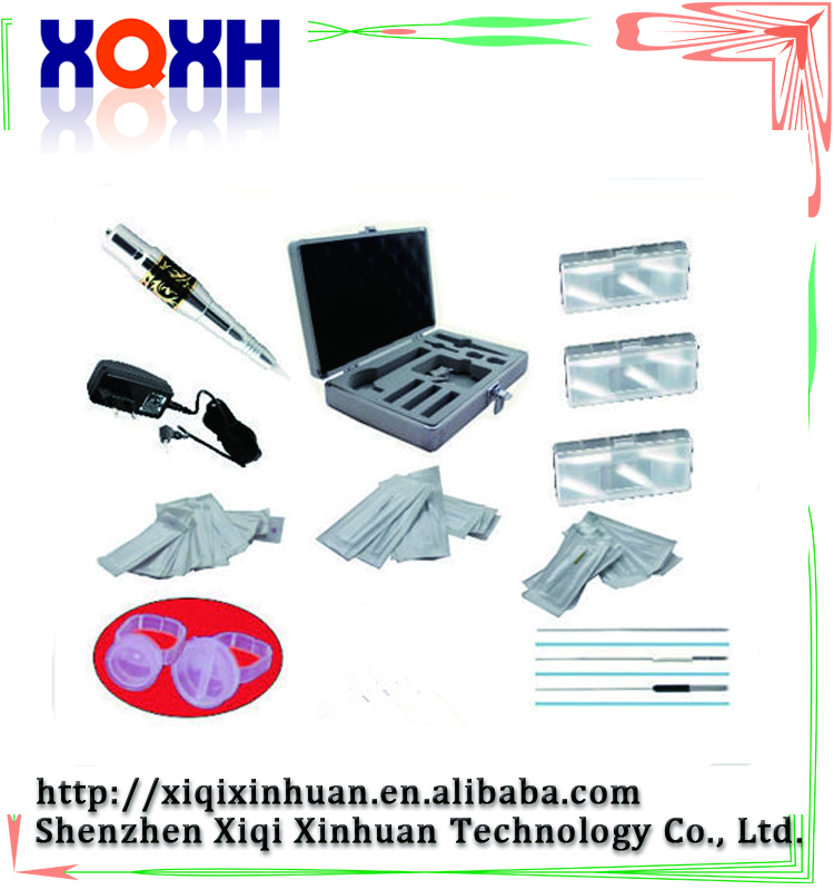 Wholesale complete permanent makeup digital machine kit with best rotary tattoo permanent makeup set wholesale high quality cheap tattoo machines with best rotary tattoo machines price for permanent makeup free shipping china