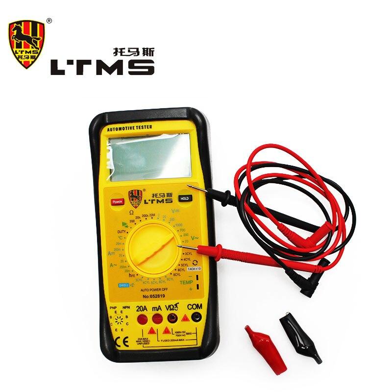Digital LCD Automotive Dedicated  Multimeter Test Current AC DC Ohmmeter Digital Multimeter Voltmeter Ammeter Diagnostic-tool  цены