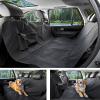Pet Car Seat Covers 600D Oxford Waterproof Back Bench Seat Car Interior Accessories Pet Travel Camping
