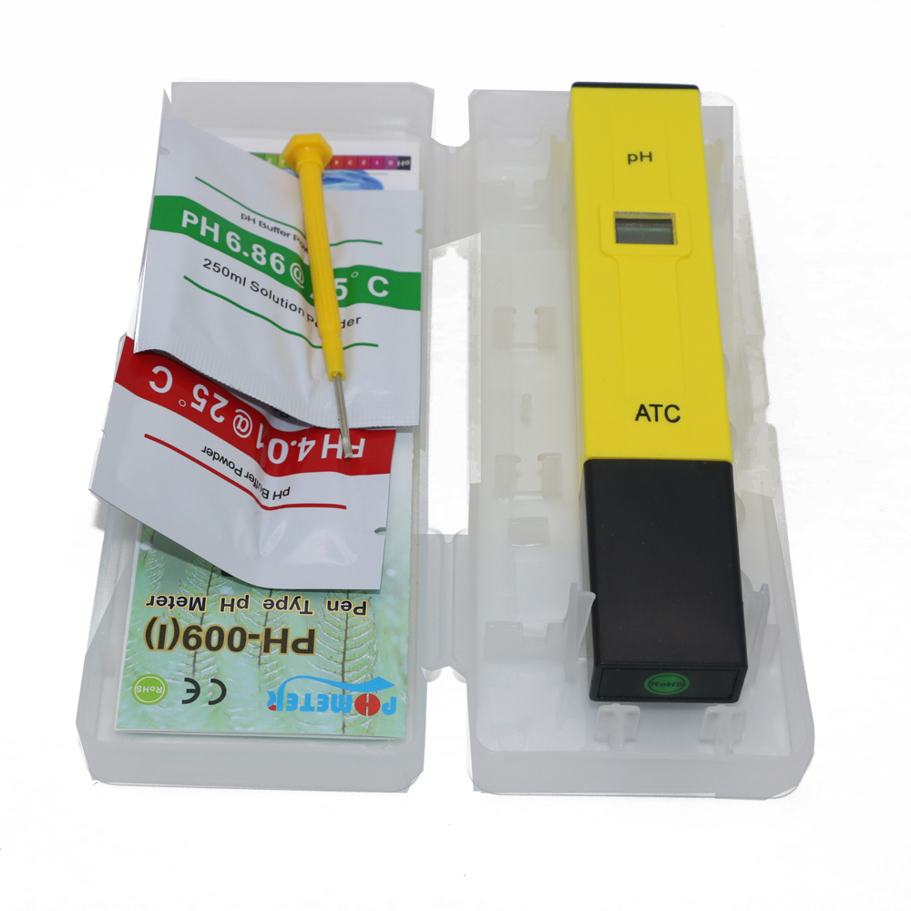 5pcs Pocket Pen Water PH Meter Digital Tester PH 009 IA 0 0 14 0pH for