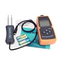 전문 디지털 목재 수분 측정기 2%-60% lcd 나무 목재 목재 대나무 종이 물 함량 수준 온도 측정 도구