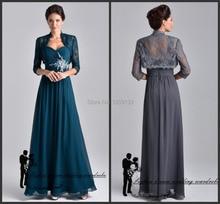 Formal lange kleider abendkleider 2015 neue reizvolle schatz-ansatz mit jacke kristall kleid für partei über vestido longo de festa