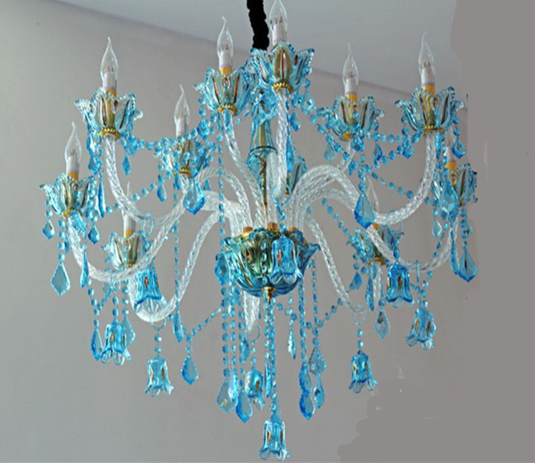 chandeliers blue crystal best chandelier luxury of design home
