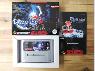 16Bit Games ** Terranigma ( English PAL Version!! Box+Manual+Cartridge!! ) 64 bit games conker s bad fur day english pal version chip save file no need battery