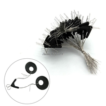 50pcs Double Hooks Contactor Device Fishing Line Space Eight Type Space Bean Set
