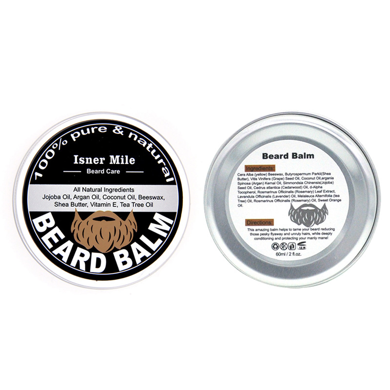 60g Male Beard Styling Wax Men Beard Care Cream Moisturizing Beard Care Grooming Pliable Molding Wax Texturized 3