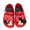 2017 Brazil New Mini Melissa Shoes Mickey & Minnie Girls Shoes Crystal Jelly Sandals Children Fish Head Shoes Melissa Red Black