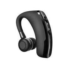 Горячие V9 громкой связи Бизнес Bluetooth гарнитура с микрофоном голос Управление Беспроводной Bluetooth наушников Спорт Музыка вкладыши