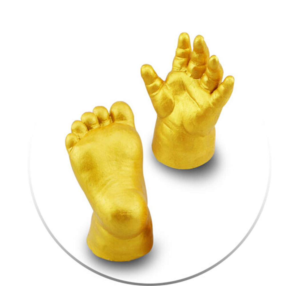 3D Baby Kid Hand/&Foot Keepsake Gift Plaster Handprint Footprint Casting Mini Kit