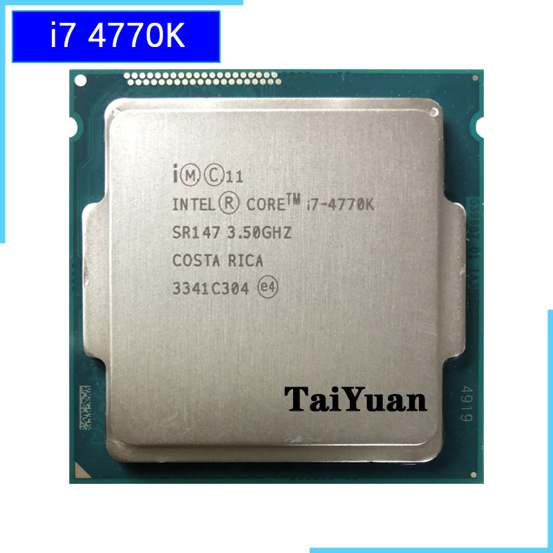 Intel Core i7 i7-4770K 3.50 GHz Processor Socket H3 LGA-1150 CM8064601464206