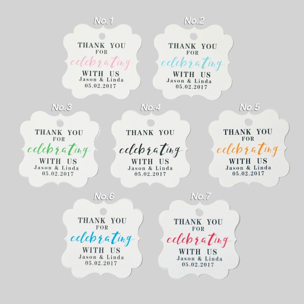 Custom Wedding Tags Wedding Favor Tags Personalized Wedding Gift Tag ...