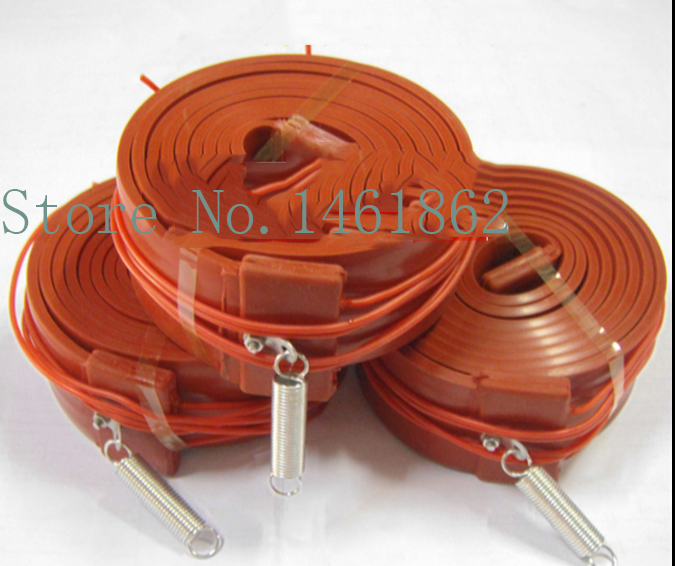 20mmx6m  480W  220V air conditioning compressor Silicone Heater ,Heating Element rubber waterproof pipeline heater band Electric