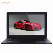 Amoudo-6C Windows 7/10 System 14inch 1920*1080P FHD 4GB RAM+1TB HDD Quad Core Ultrathin Laptop Notebook Computer,free shipping