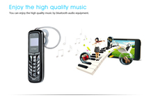 MOSTHINK GTstar BM50 Mini Mobile Phone 0.66″ Screen Small Size Cellphone 300mAh Bluetooth Earphone SMS TINY Button Phone