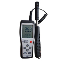 Smart Sensor AS847 Split Digital Hygrometer Humidity Meter 2 In 1 K Type Thermocouple Humidity Gauge