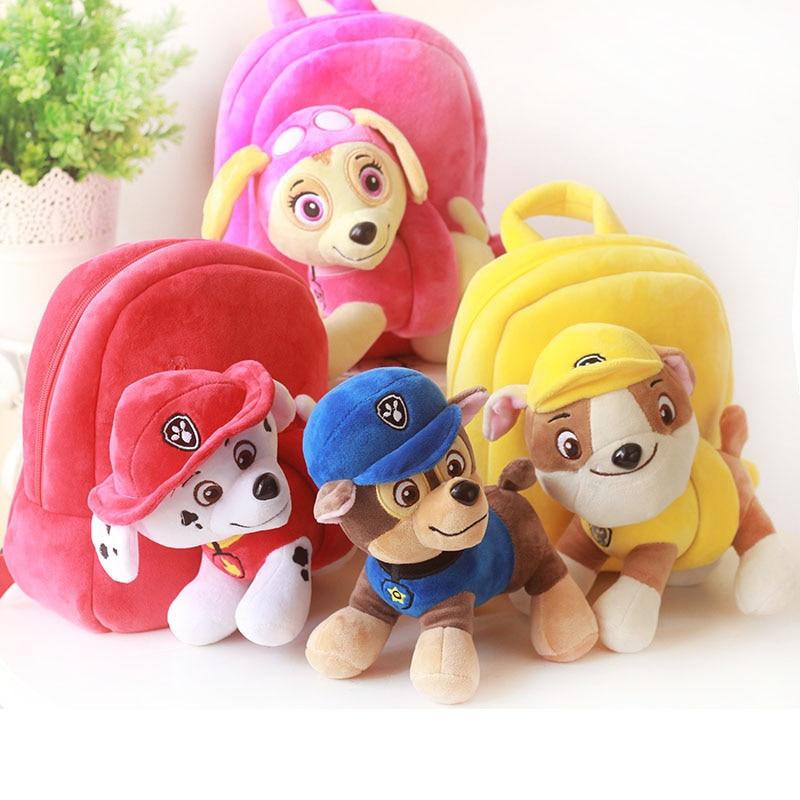 Image 3 - Paw Patrol Dog Stuffed & Plush Doll bag Anime Kids Toys Action Figure Plush Doll Model Stuffed and Plush Animals Toy giftMovies & TV   -