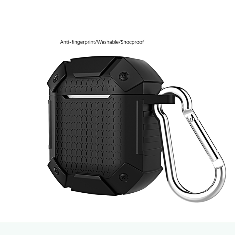 For Apple Airpods Armor Case Full Protection Shockproof Earphone Cover Shell For Airpods Funda Bag TWS Headset Case Accessories