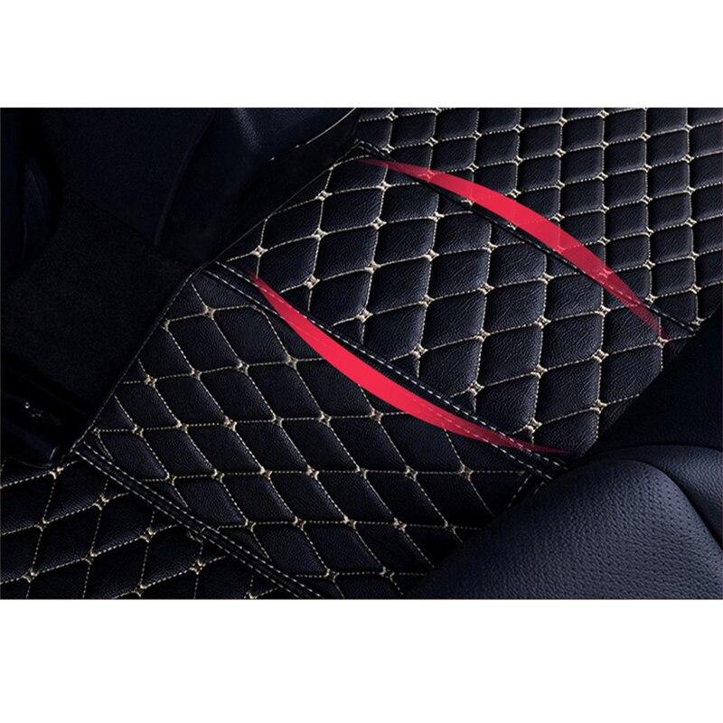 Flash Mat de coche de cuero alfombras de piso para Bmw X5 E53 E70 2004 2013, 2014 2016, 2017 de 2018 de auto pie almohadillas alfombra para automóvil cubierta - 4