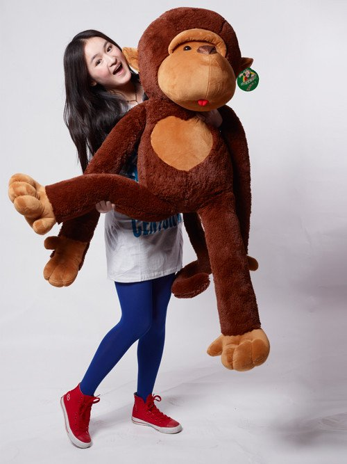 Giant Monkey Soft Plush Toy 130cm 4 27 Ft Factory Outlet Birthday