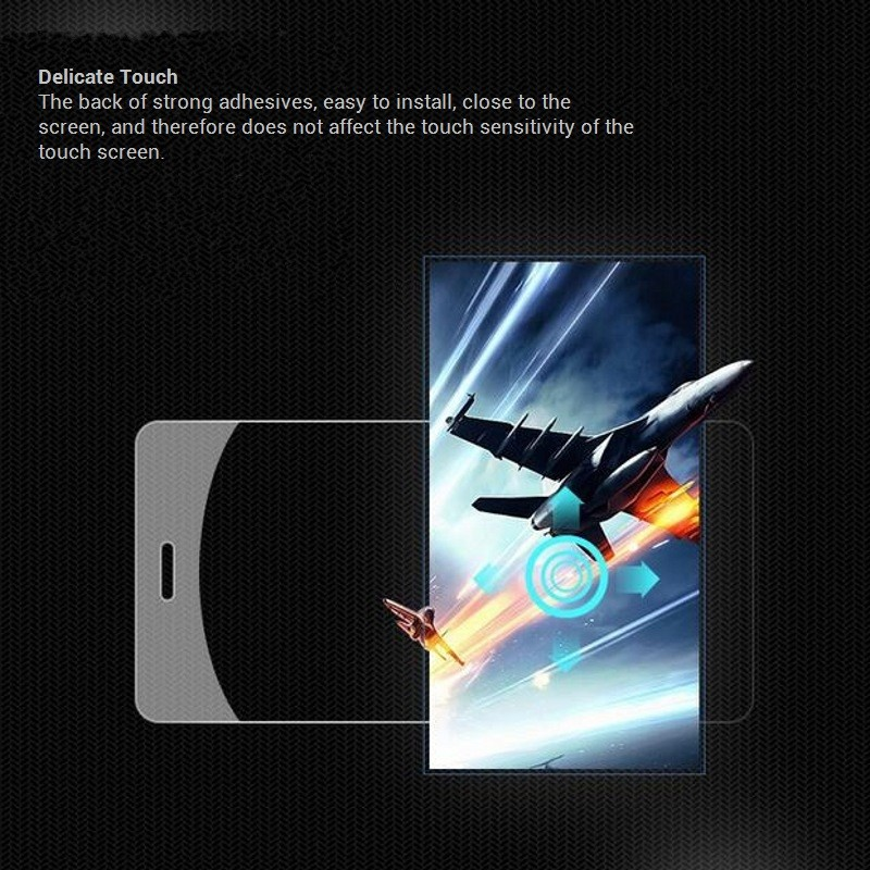 """Free shipping screen protector glass Front Film For Lenovo K6 Enjoy 6.22"""" screen protector anti shatter glass"""