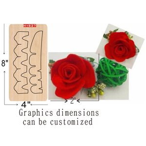 Image 1 - flower  wooden die cutting dies Suitable for common die cutting machines in the market