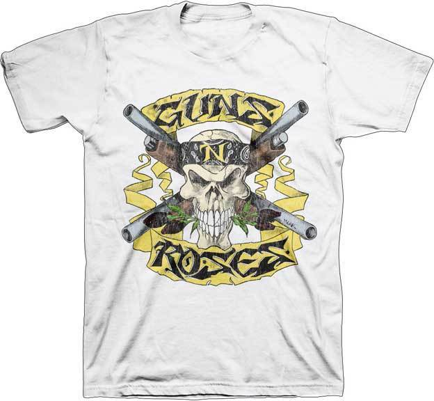 GUNS N ROSES - T SHIRT S-M-L-XL-2XL Brand New - Official T Shirt