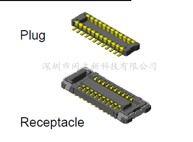 Original promotional JAE connector WP7-P010VA1-E6000 touch screen LCD screen connector to ensure quality