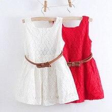 2018 Summer Lace Vest font b Girls b font font b Dress b font Baby font