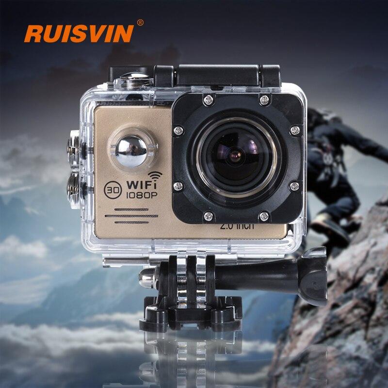 bilder für Ruisvin b2g action kamera wifi sport helmkamera gopro hero 4 Stil Wasserdichte Kamera Volles 1080 P Ultra HD Sport DV Camcorder