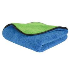 Beroyal marka 2018 ręcznik kuchenny-1 PC Super grube pluszowe ściereczki do czyszczenia samochodu z mikrofibry chłonne ściereczki do naczyń ręczniki do polerowania tanie tanio gm130047 Bez wzorków W jednym kolorze 5 s-10 s można prać w pralce Szybkoschnący Sprężone Plac wyszywana 172g piece