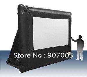 MS02 13.5ft 4 м НОВЫЙ Кинотеатр Под Открытым Небом Надувные Pro Театр Проекционный Экран + Ремонтные Комплекты
