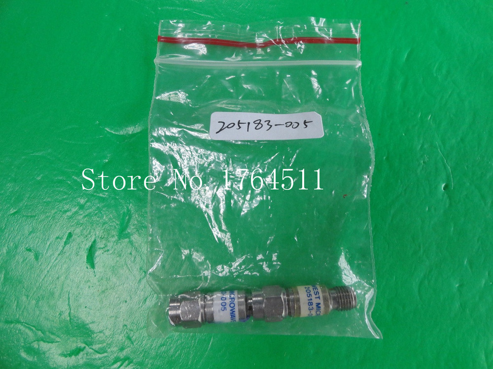 [BELLA] MIDWEST 205183-005 DC-12.4GHz 5dB 2W SMA Coaxial Fixed Attenuator  --3PCS/LOT