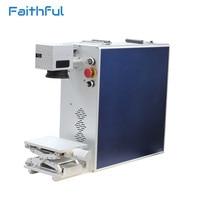 20 Вт волоконный лазерный принтер машина для пластмасс IPG лазерный источник волокна