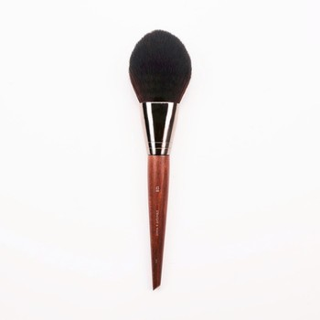 1 piece #128 Big Precision Powder Makeup brush Blusher contour setting Natural wood Long handle Professional Make up brushes 1
