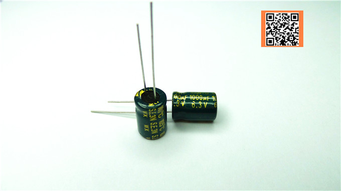 10pcs lot 6 3V1000UF 8 12 Low ESR Impedance high frequency aluminum electrolytic capacitor 1000UF 6