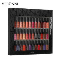 2018 Lip Makeup Soft Matte Lip Cream 36pcs Set Lipstick Lip Gloss Matte No Fading lingerie vault 30pc lipgloss Set