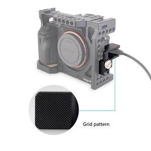 Image 4 - MAGICRIG HDMI kablo kelepçesi HDMI kilidi kelepçe A7RIII /A7RII /A7III /A7II /A7SII /A7M3 DSLR kamera kafesi fotoğraf kiti Rig