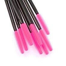 Горячие 50 шт. одноразовым ресницы кисти тушь макияж аппликатор палочка макияж кисти составляют Красота инструменты