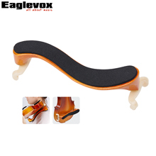 Solid Wood Violin Shoulder Rest For 4/4 and 3/4  Violin Parts Accessories with Collapsible and Height Adjustable Feet