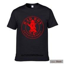104f3c6fdee Summer Hot Selling Cool T-shirts BAD BOY ENTERTAINMENT T-shirts Fashion  Cotton Half Sleeves