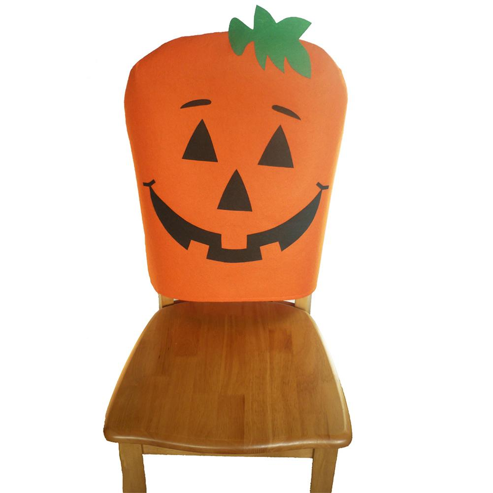 Terrific Us 3 74 26 Off Halloween Pumpkin Chair Cover Halloween Chair Back Covers Chair Cover Case Party Table Decoration Home Supplies In Party Diy Caraccident5 Cool Chair Designs And Ideas Caraccident5Info