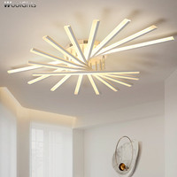 Wooights Modern Ceiling Chandelier Lighting Bedroom Living room Hallway plafonnier led lampara techo Acrylic bedroom Chandelier