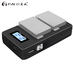Image 3 - パロ 2 個 1800mah LP E8 LPE8 LP E8 バッテリー Batterie AKKU + 液晶デュアル充電 Canon EOS 550D 600D 650D 700D X4 X5 X6i X7i T2i