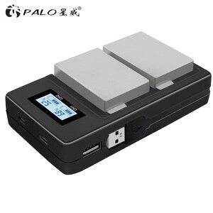 Image 3 - PALO 2 pièces 1800mah LP E8 LPE8 LP E8 Batterie AKKU + LCD double chargeur pour Canon EOS 550D 600D 650D 700D X4 X5 X6i X7i T2i