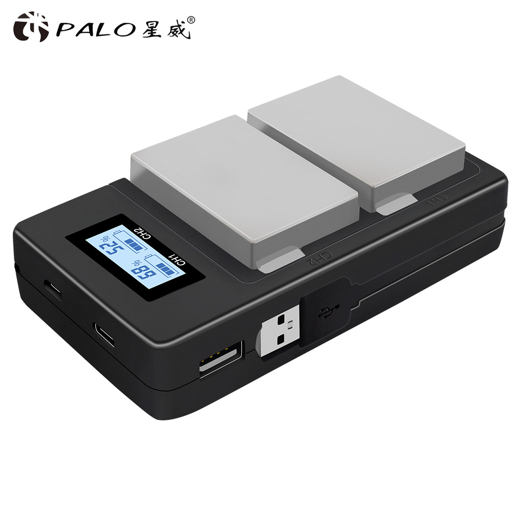 Image 3 - PALO 2Pcs 1800mah LP E8 LPE8 LP E8 Battery Batterie AKKU + LCD Dual Charger for Canon EOS 550D 600D 650D 700D X4 X5 X6i X7i T2i-in Digital Batteries from Consumer Electronics