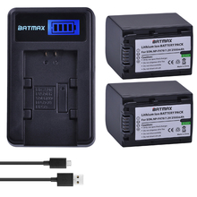 2 팩 2500mAh NP FV70 NP FV70 NPFV70 배터리 및 LCD USB 충전기 소니 NP FV50 FV30 HDR CX230 HDR CX150E HDR CX170 CX300 Z1
